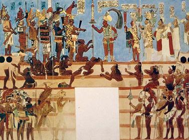 Columnas de opini n los mayas un pueblo enigm tico for El mural de bonampak